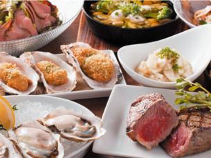 肉和牡蠣市場